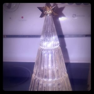 Gorgeous Vintage Crystal Christmas Tree